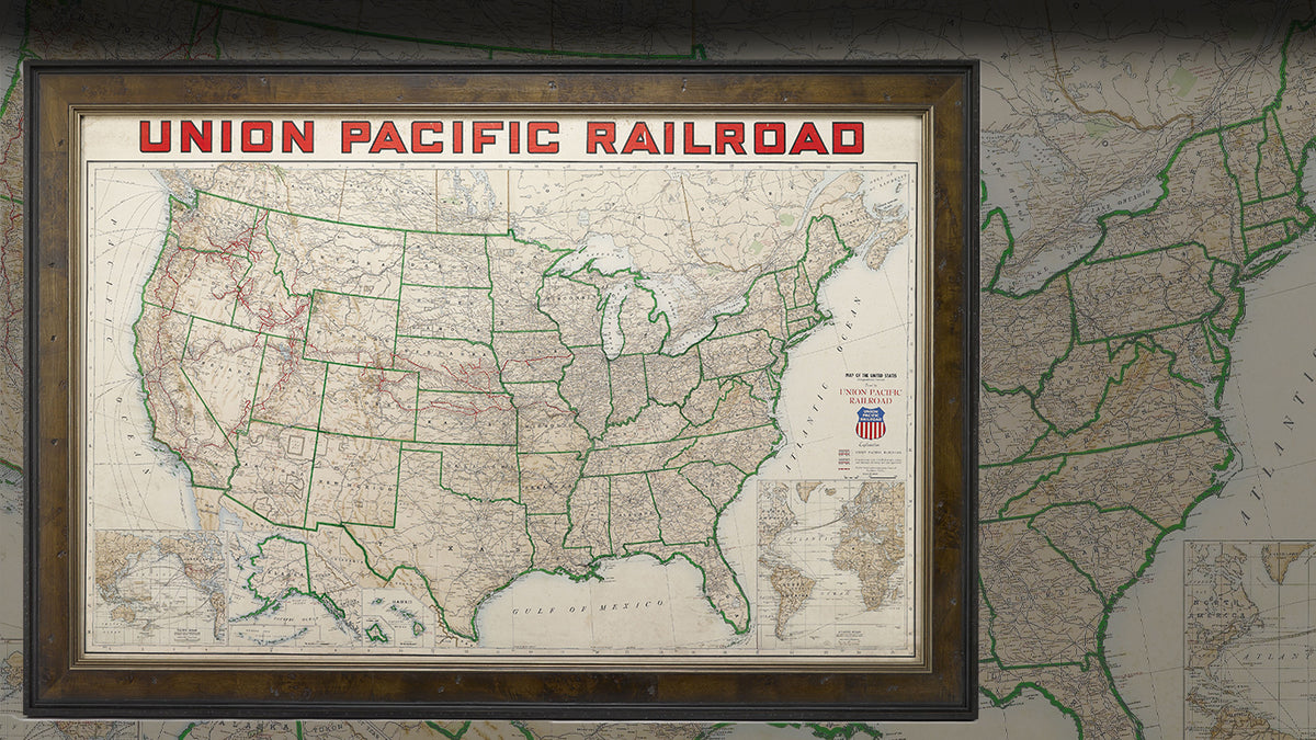 Union Pacific Railroad Map