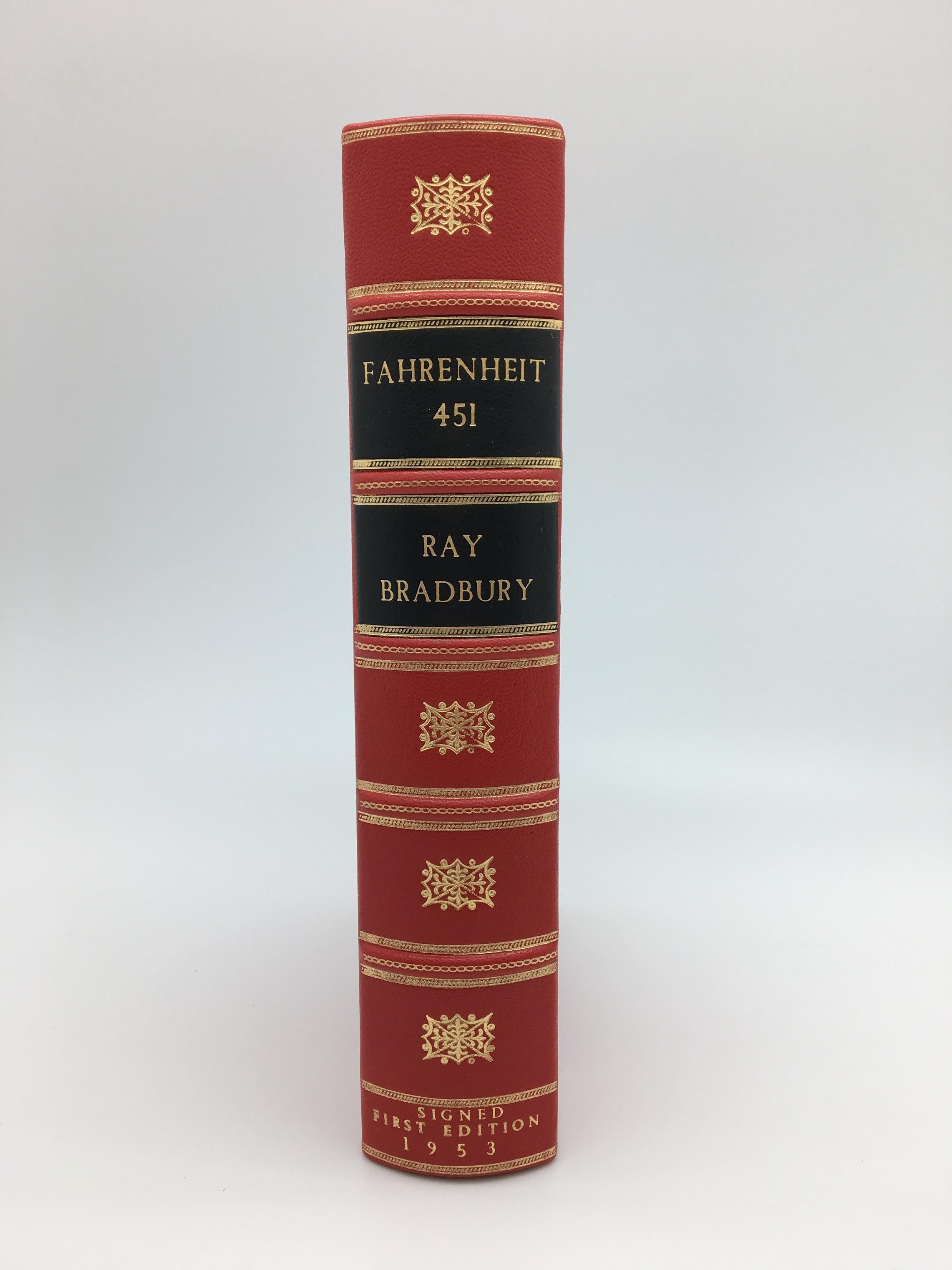 Fahrenheit 451 Inscribed And Signed By Ray Bradbury First Edition
