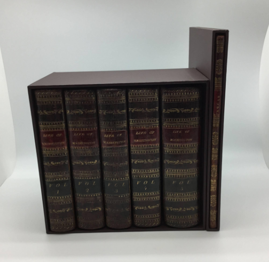 The Life of George Washington by John Marshall, Second Edition 6-Volume Set Including Atlas