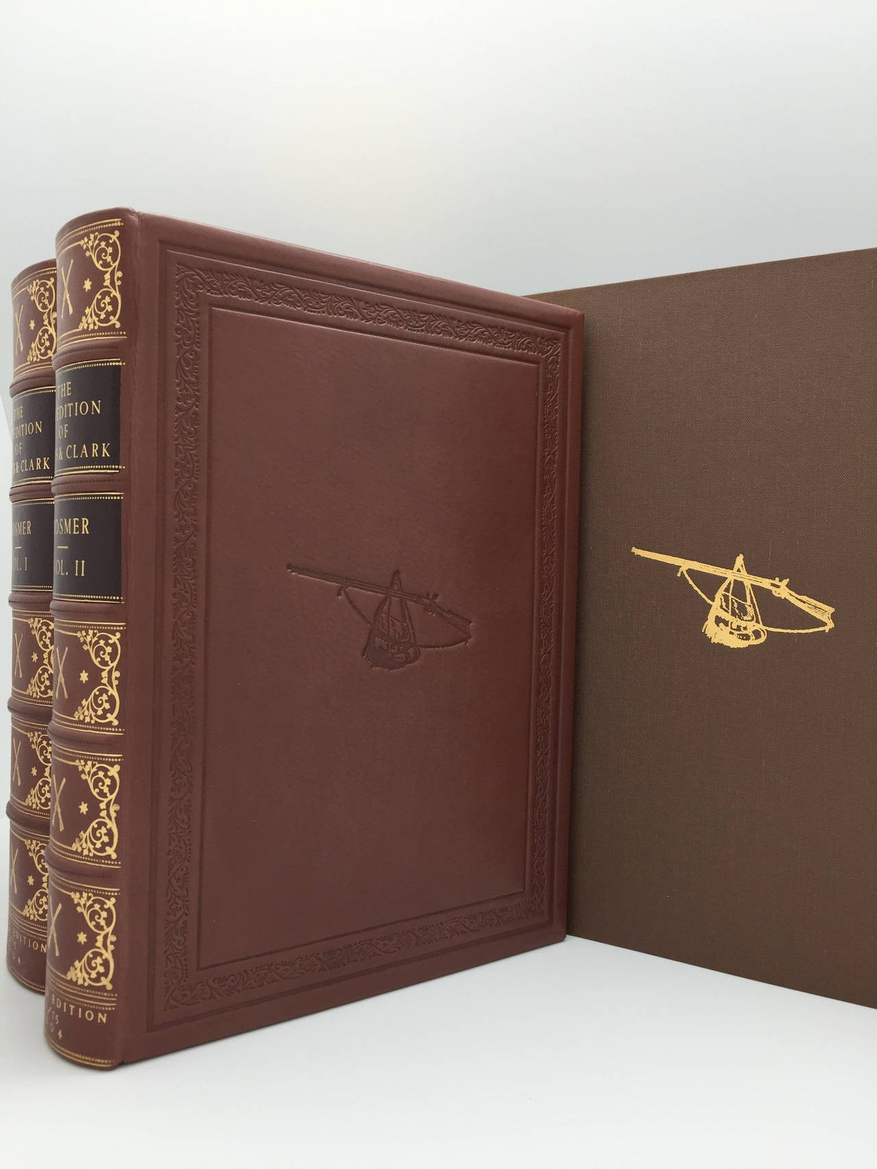 1904 Expedition of Captains Lewis and Clark, Two-Volume Limited Edition, No. 1 of 75
