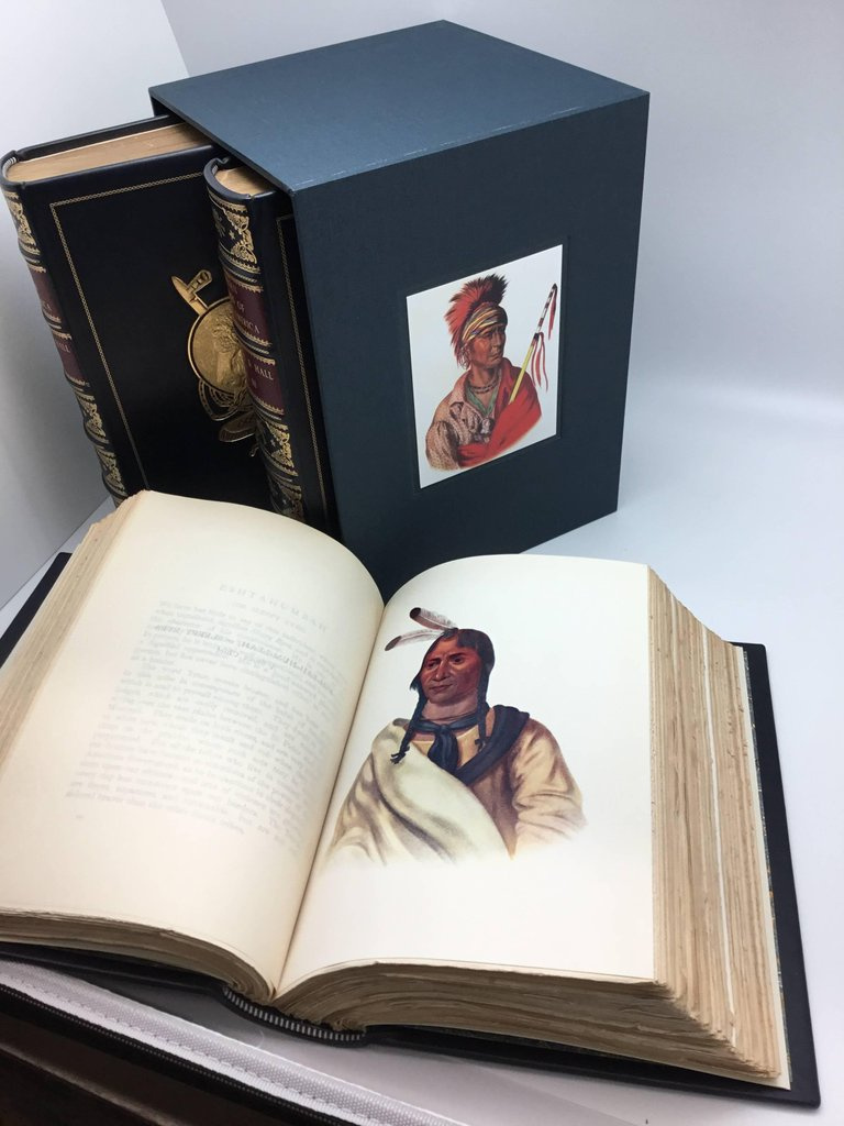 The Indian Tribes of North America by McKenney, Three-Volume Set, Circa 1933-34