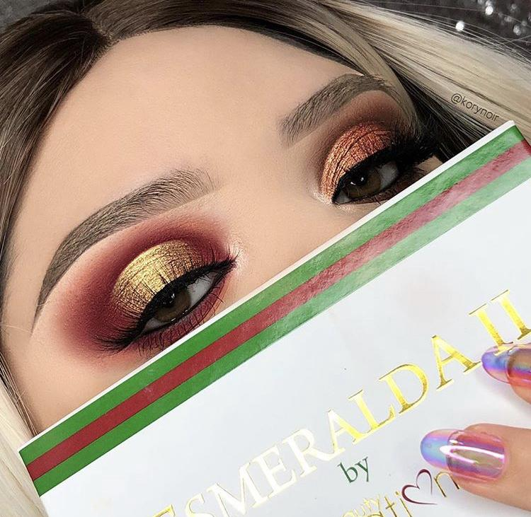 Paleta Esmeralda Beauty Creations