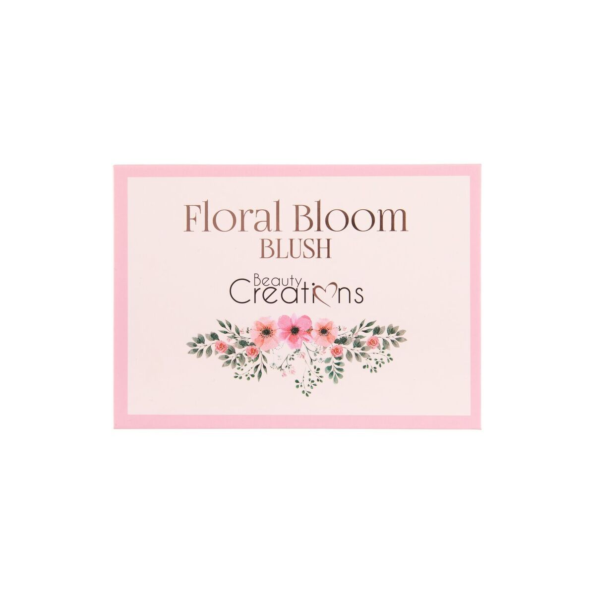 "FLORAL BLOOM "" BLUSH "" PALETTE BEAUTY CREATIONS"