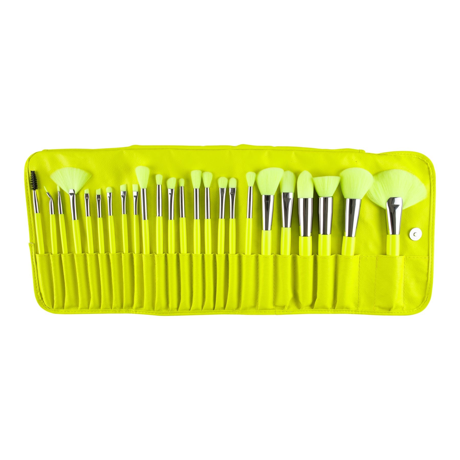 Set de brochas Beauty Creations THE NEON Yellow
