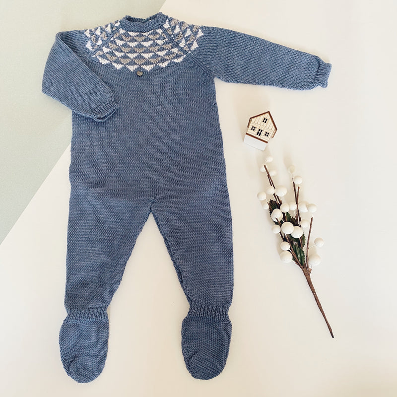 Wedoble - Fair Isle Baby Grow
