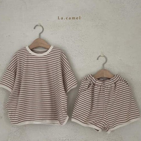 La Camel - Marley Top & Bottom Set - Thick Line