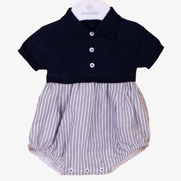 Wedoble - Navy Polo Shortie