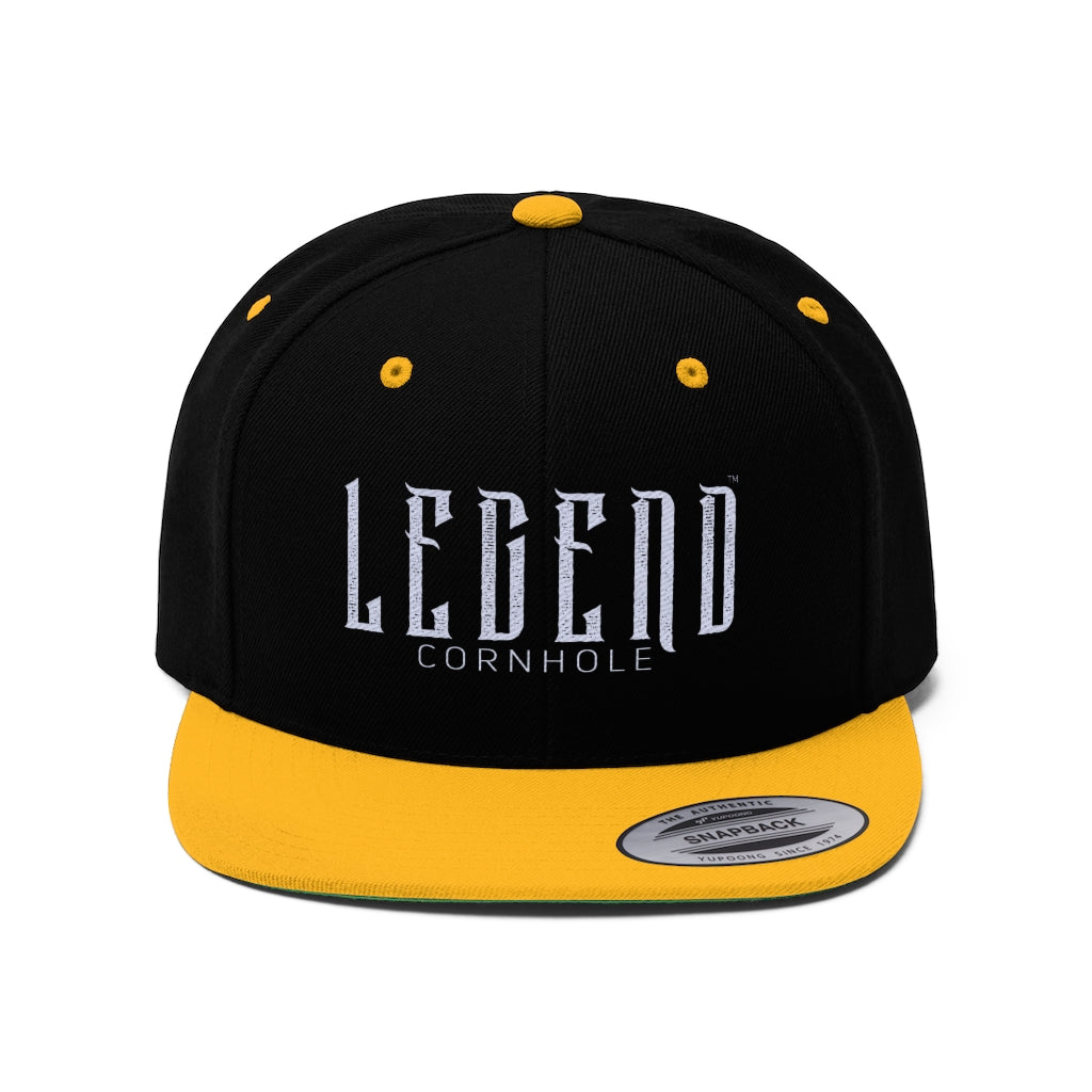 Legend™Cornhole :: Unisex Flat Bill Hat