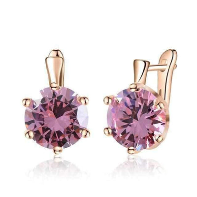 Gemstone earrings-Couple Jewellery