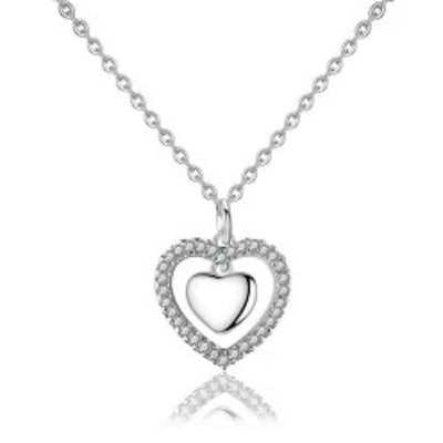 Titanic heart of the ocean necklace-Couple Jewellery