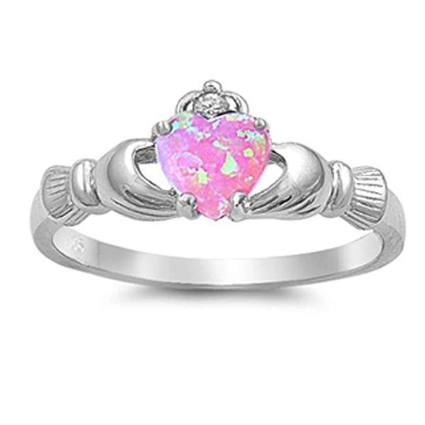 Irish Love Heart Rings-Couple Jewellery