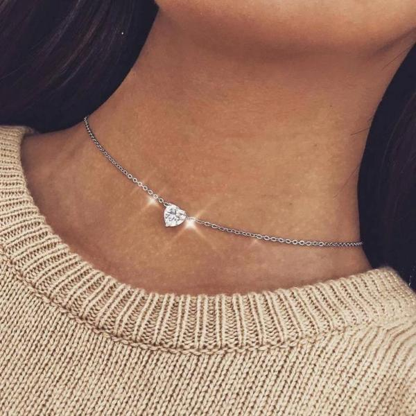Heart of gold choker-Couple Jewellery