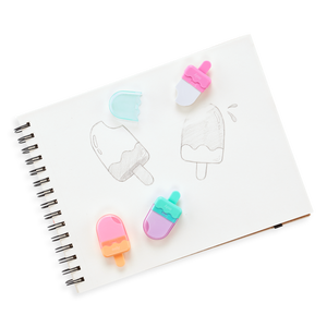 Icy Pop Erasers