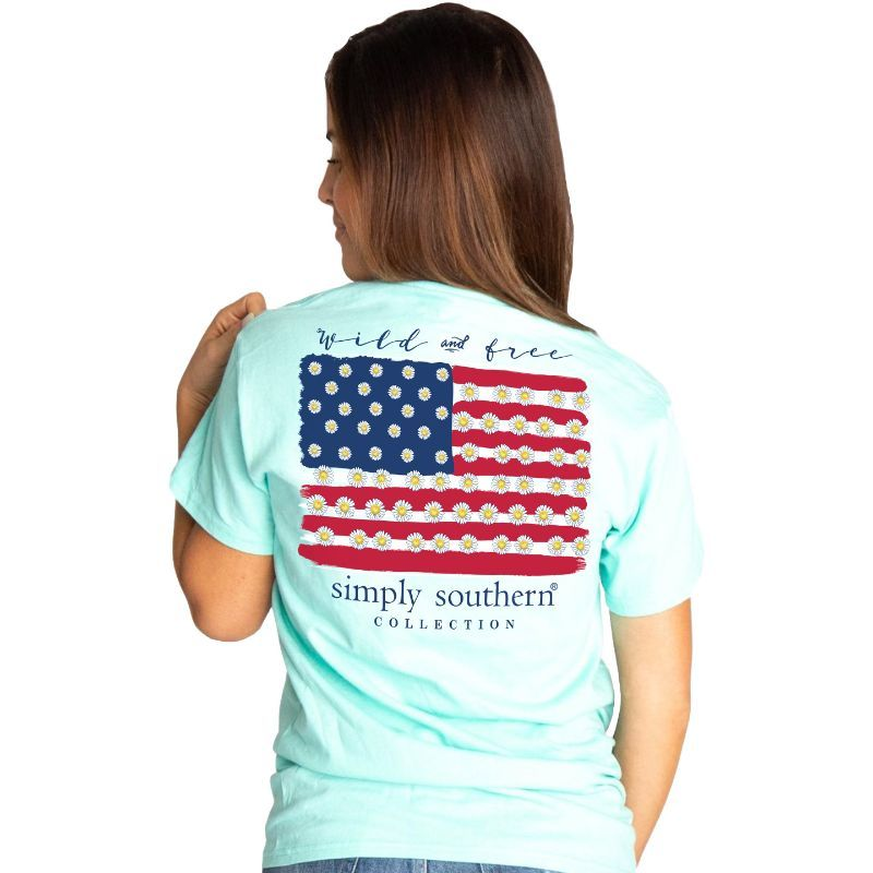 Simply Southern Shirt Wild and Free