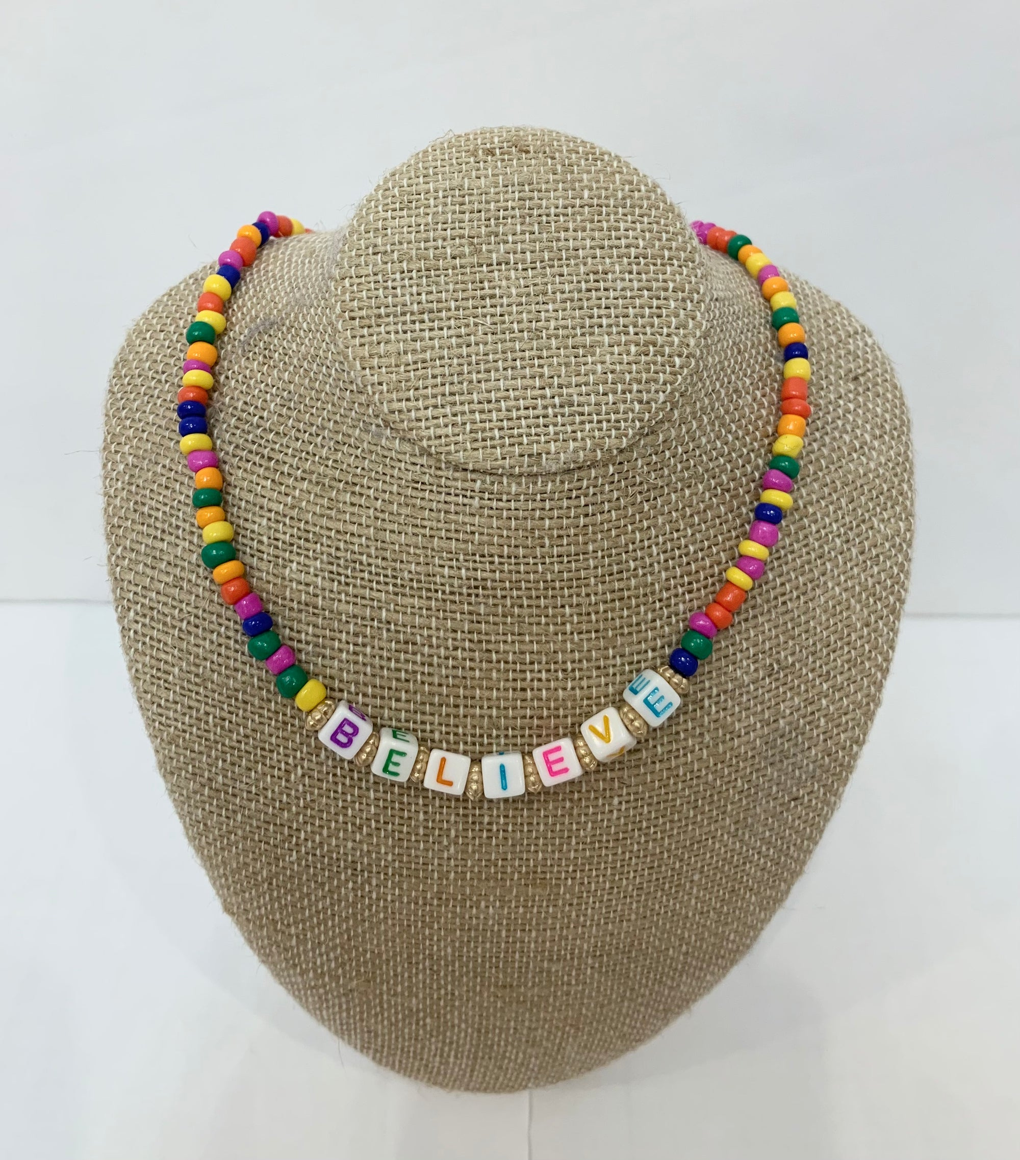 Spell it out necklace