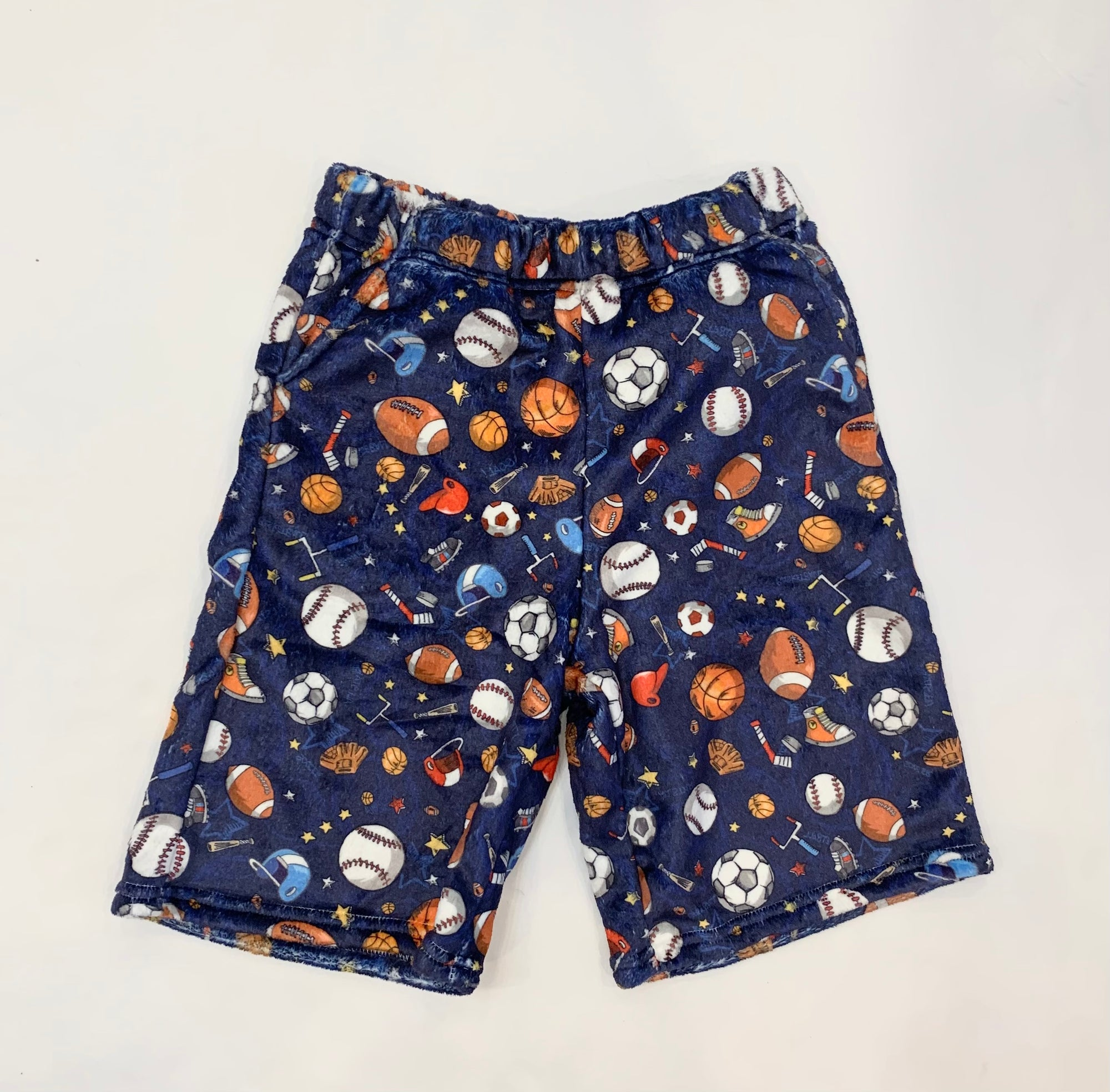 Sports Time Plush shorts