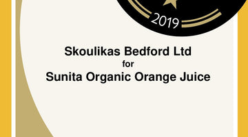 Great Taste Award Certificates – for Sunita Organic orange juice
