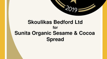 Great Taste Award Certificates – for Sunita Organic sesame and cocoa spread