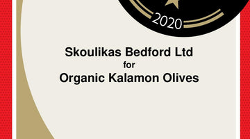 Great Taste Award Certificates – for Organic Kalamon Olives