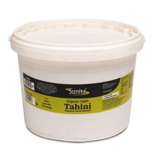 Sunita Organic Light Tahini 3Kg