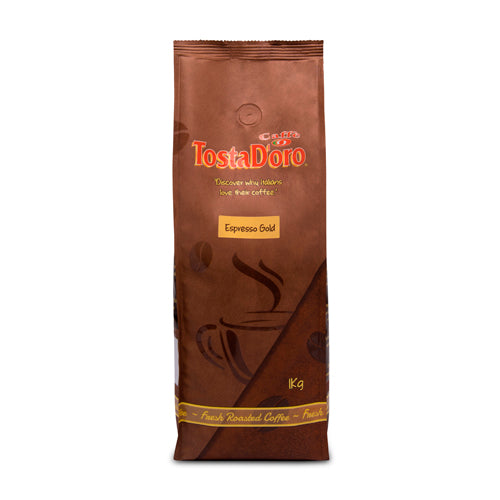 Tosta D'Oro Espresso Gold Blend Coffee Beans 1kg