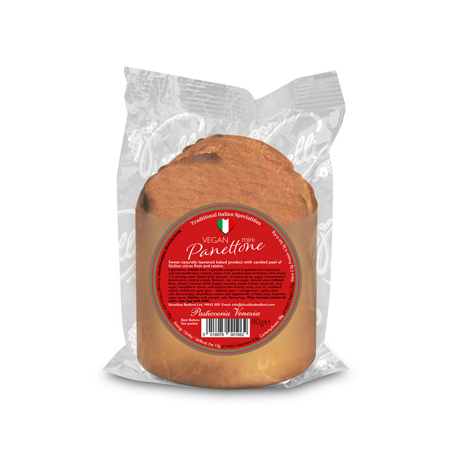 Vegan Friendly Mini Panettone 80g