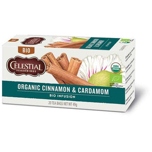 Celestial Seasonings Organic Cinnamon & Cardamom Herbal Tea