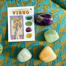 Load image into Gallery viewer, Virgo Crystal Tumble-stone Set