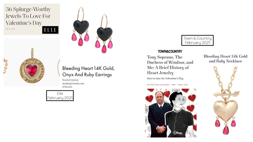 Town And Country Heart Jewelry