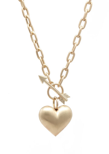 Cupid's Heart Necklace