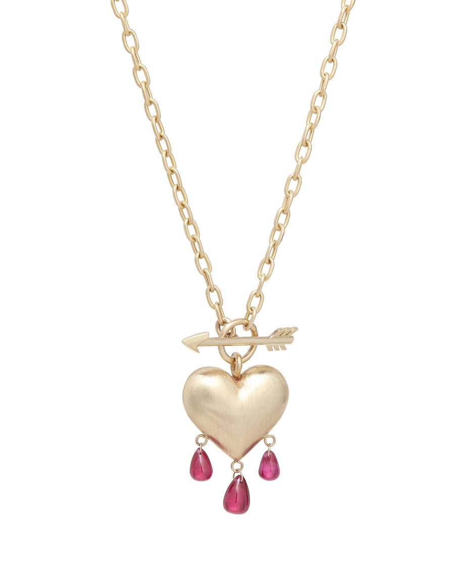 Bleeding Heart Necklace Medium
