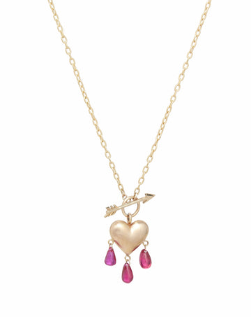 Bleeding Heart Necklace Small