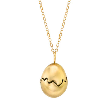 Broken Egg Necklace