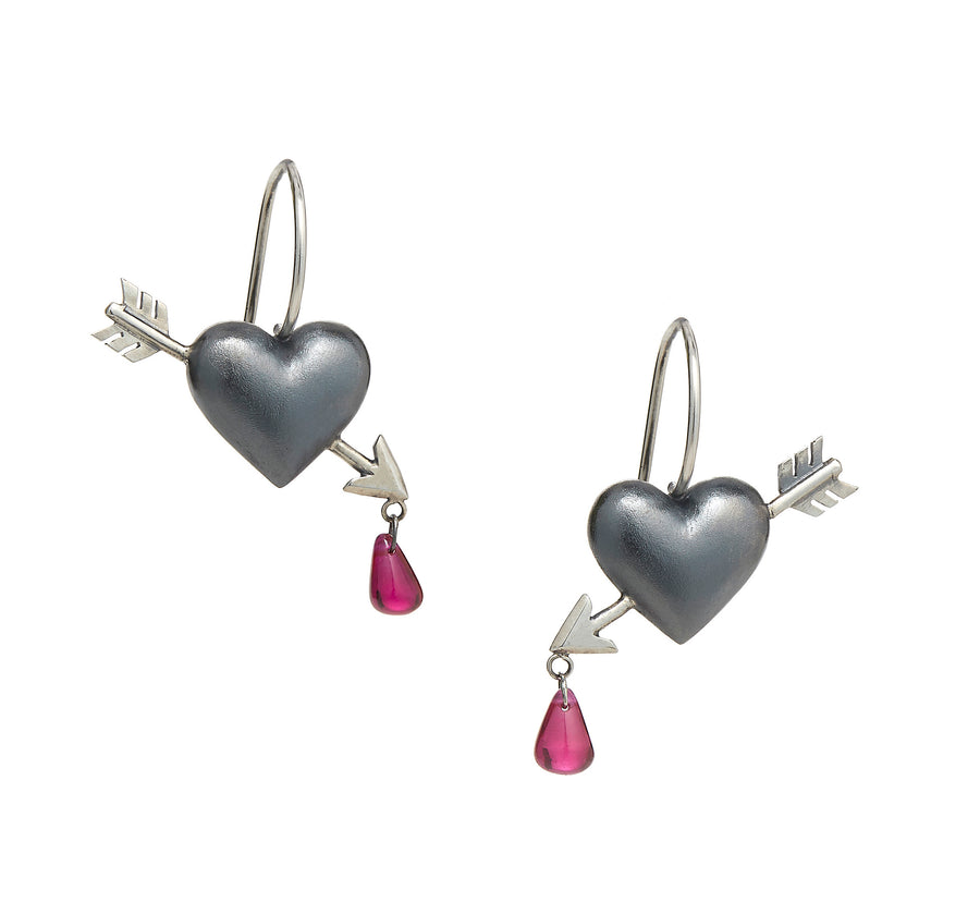 Mini Cupid's Arrow Earrings