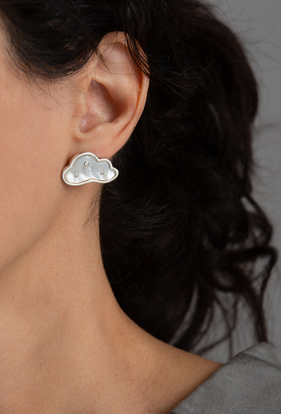 Petite Cloudy Day Earrings