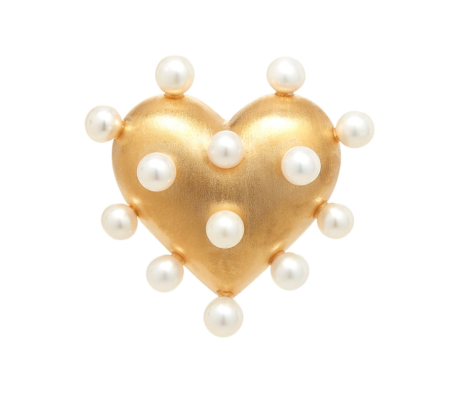 Pin Cushion Heart Ring