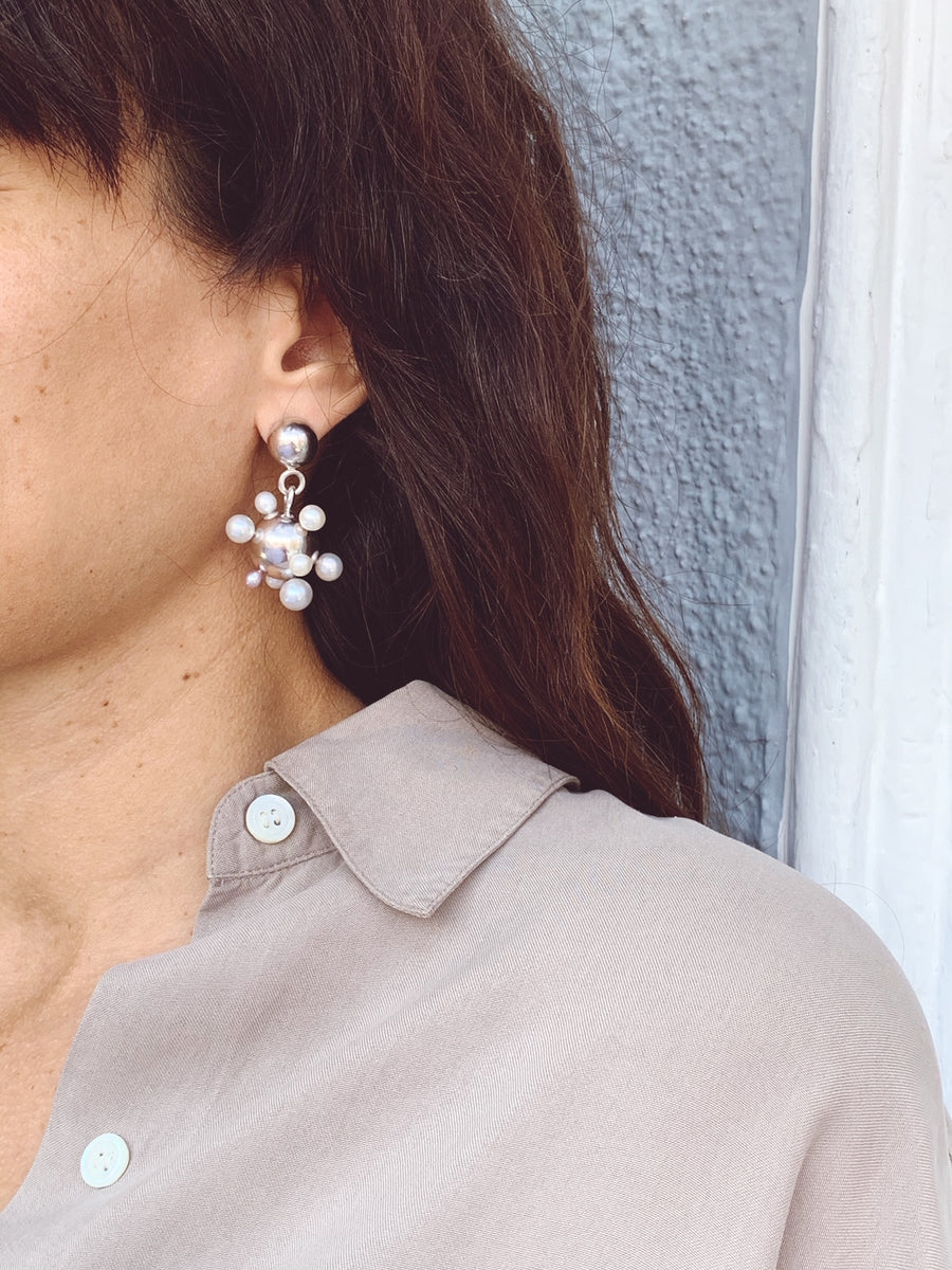 Sputnik Earrings