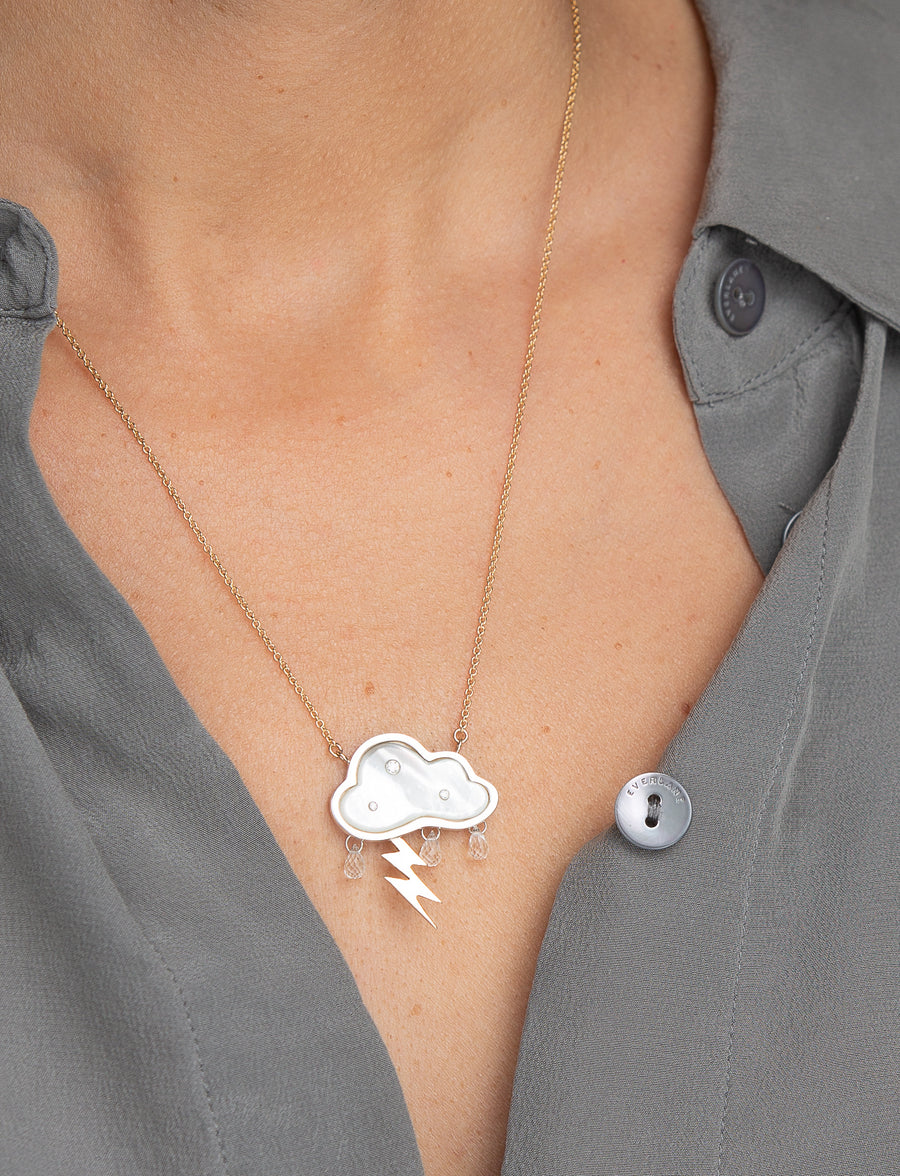 Petite Stormy Day Necklace