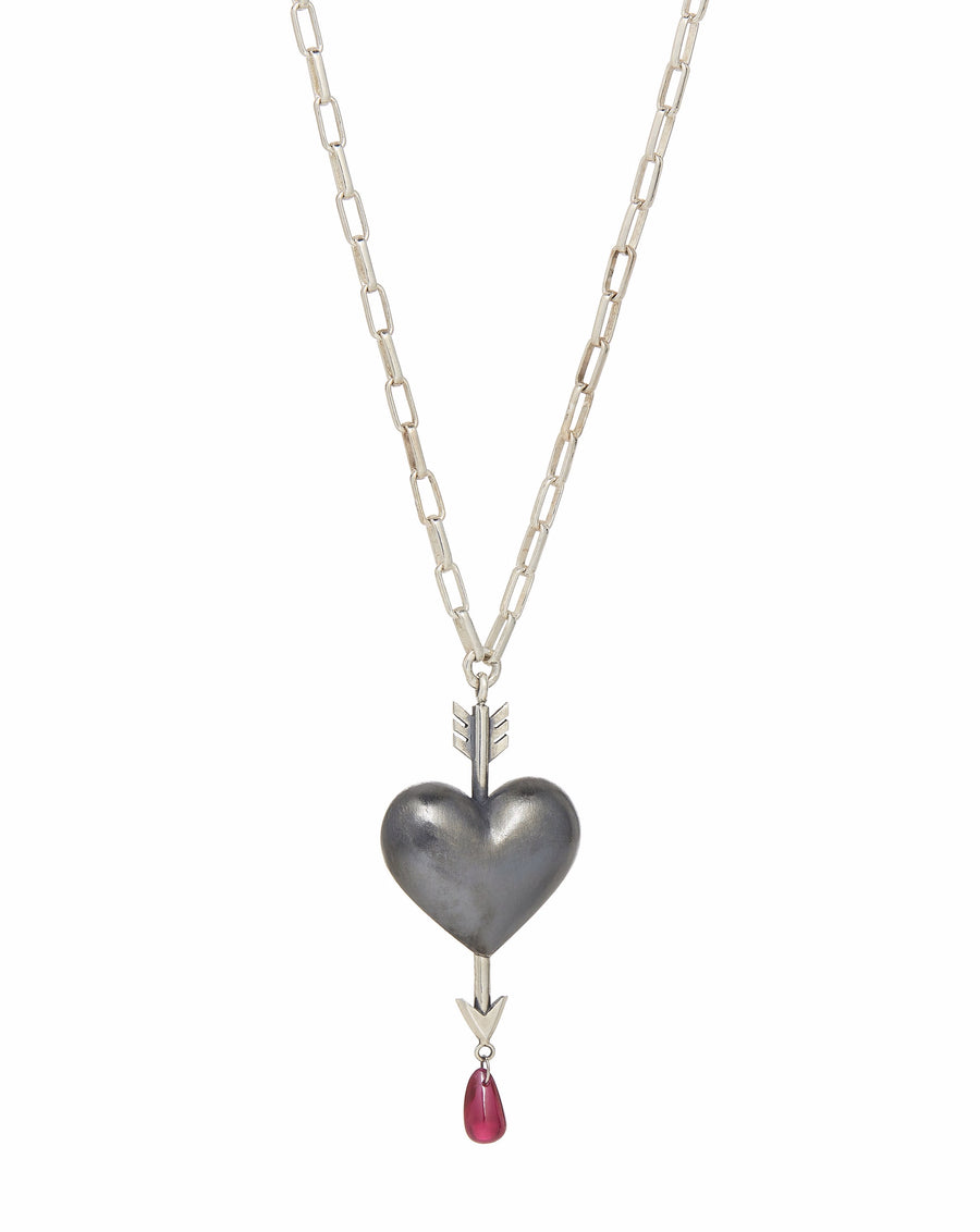 Through the Heart Necklace