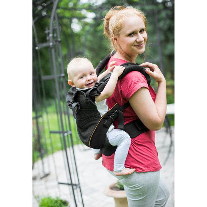 Manduca XT Range Baby Carrier Denim Black Toffee | Baby Mode