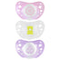 Chicco Soother Physio Air Silicone Pink 0-6m 2 Pack
