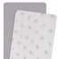 Living Textiles 2-pack Muslin Cradle/Co-Sleeper Fitted Sheet Dandelion/Grey