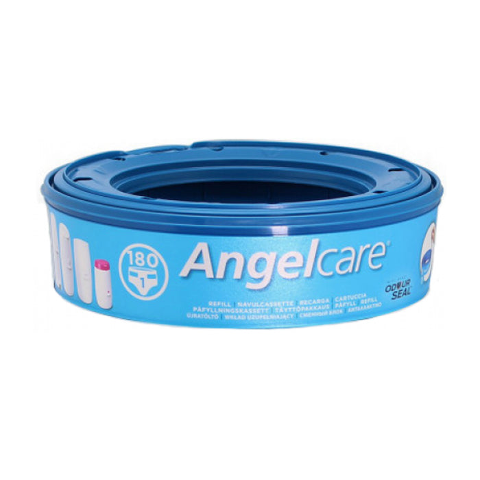Blue Angelcare Nappy Disposal System
