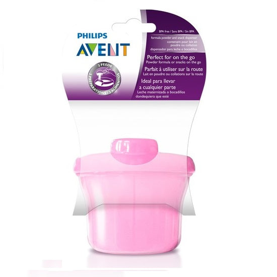 Avent Powdered Milk Dispenser Pink