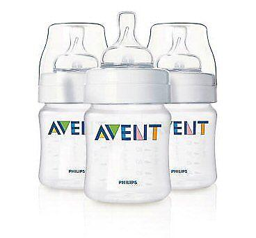 Avent Classic+ Anticolic 125ml Feeding Bottle 3 Pack