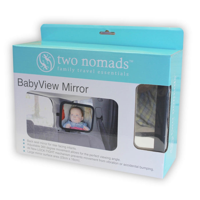 Two Nomads Baby View Back Seat Mirror