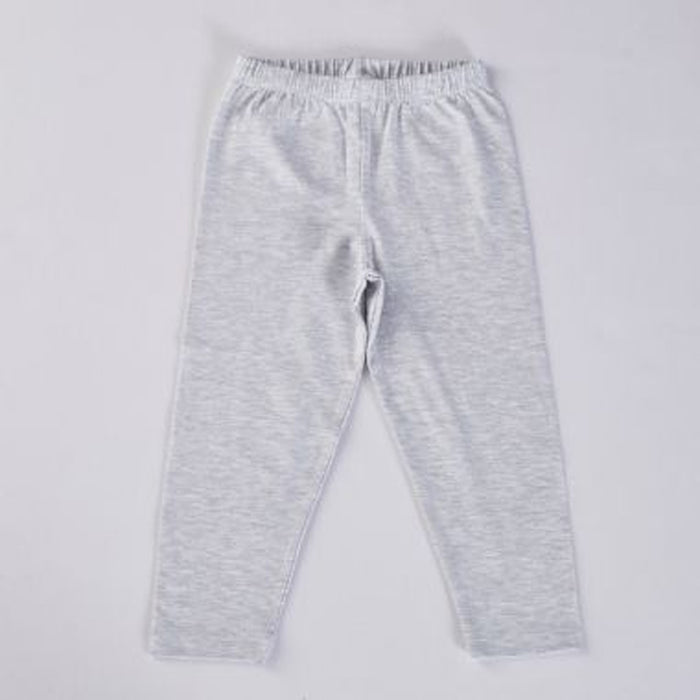 Big Softies Cotton Leggings Grey Melange