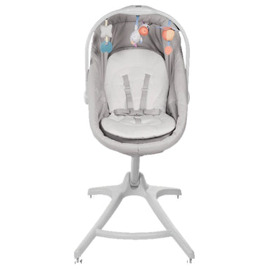 Chicco Baby Hug 4 in 1 Cradle & Chair Glacial
