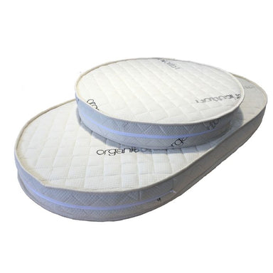 Spinal Support Organic High Density Fibre Mattress Set For Cocoon Nest