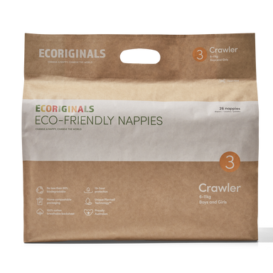 Ecoriginals Eco-Friendly Nappies - Crawler (7-13kg)